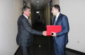 REUF BAJROVIĆ, MINISTAR ENERGIJE, INDUSTRIJE I RUDARSTVA FEDERACIJE BIH POSJETIO ELEKTROPIVREDU HZHB