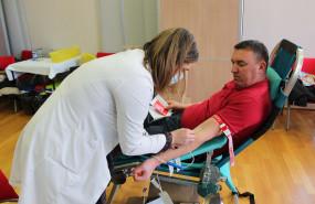 Prva akcija darivanja krvi u 2021., veliki odziv darivatelja