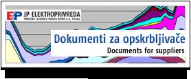 EP Dokumenti za opskrbljivače